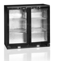Ψυγείο Back Bar (191lt) Διπλό Με Ανοιγόμενες Πόρτες Tefcold DB200H