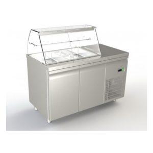 ψυγείο σαλατών-2 πόρτες