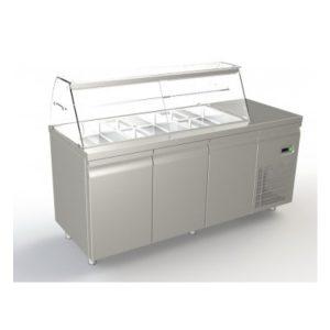 ψυγείο σαλατών_3 πόρτες