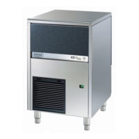 Παγομηχανή 35kg Ψεκασμού (Παγάκι Συμπαγές 18gr) Brema CB-316