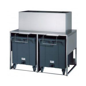 Αποθήκη Πάγου Με Καρότσι 2 X 108kg Db Roller 100