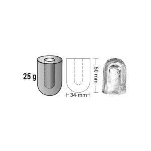 Παγομηχανή 180kg Ανάδευσης (Παγάκι Τρύπα 25gr) ITV QUASAR MQ200