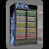 Βιτρινα Συντηρησης Διπλη (1250Lt) INTERCOOL SRCL-1300SAX