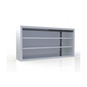 Ποτηριέρα 90x30x70cm Χωρίς Πόρτες Με 2 Ρυθμιζόμενα Ράφια