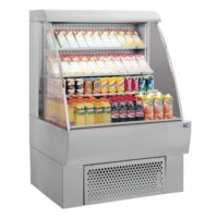 Ψυγείο Αυτοεξυπηρέτησης (280Lt) Με Μοτέρ Isa FOS Inox 100 RV TN