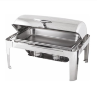 Roll Top Επιτραπέζιο Μπαιν Μαρί (Chafing Dish) Για GN 1/1 Stalgast 437011
