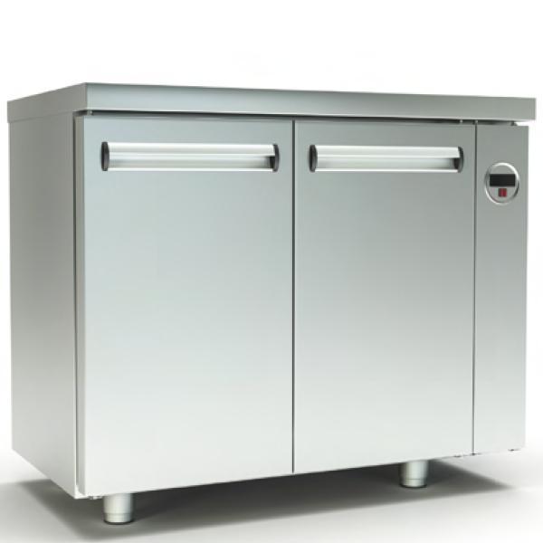 Ψυγείο Πάγκος Συντήρηση (105x60x87cm) Χωρίς Μηχανή Με 2 Πόρτες