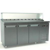 Ψυγείο Saladette (135x70x126cm) Με 2 Πόρτες