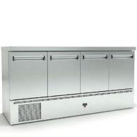 Ψυγείο Πάγκος Συντήρηση (180x70x87cm) Με 4 Πόρτες Και Μηχανή Κάτω