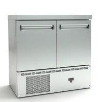 Ψυγείο Πάγκος Συντήρηση (90x70x87cm) Με 2 Πόρτες Και Μηχανή Κάτω